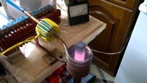 Индукционная печь своими руками из микроволновки