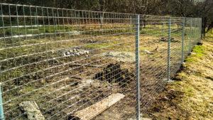 Забор из сварной сетки своими руками