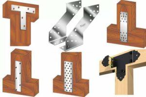 Металлический крепеж для деревянных конструкций