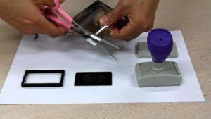 Как изготовить штамп в домашних условиях