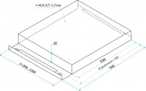 Металлические кассеты для фасада размеры