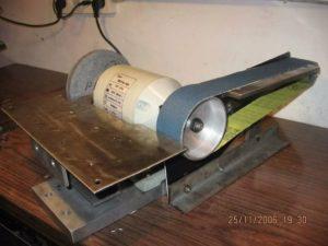 Как сделать ленточный шлифовальный станок своими руками