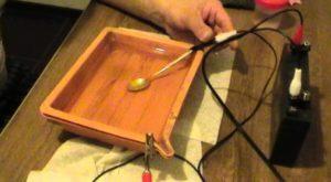 Как посеребрить металл в домашних условиях