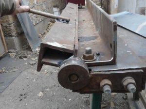 Самодельный гибочный станок для листового металла