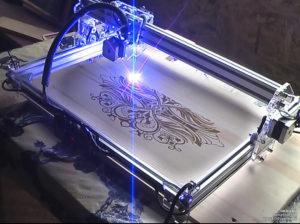 Лазер для гравировки по металлу своими руками