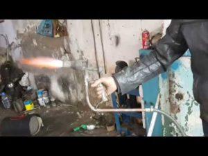 Газовая горелка из паяльной лампы своими руками