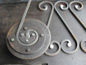 Как сделать завитушки из металла