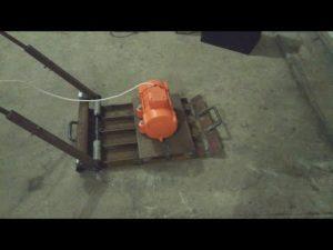 Вибротрамбовка для уплотнения грунта своими руками