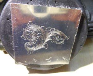 Ручная гравировка по металлу штихелем