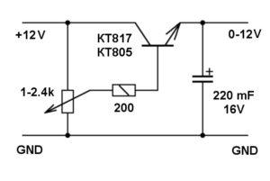 Регулятор тока своими руками 12 вольт