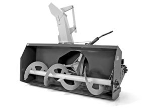 Роторный снегоуборщик для трактора своими руками