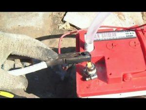 Восстановление клеммы аккумулятора автомобиля своими руками