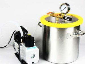 Вакуумная камера для дегазации силикона своими руками