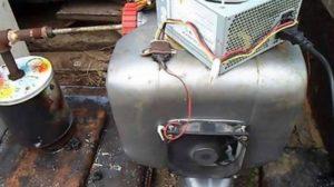 Компрессор для дымогенератора коптильни своими руками