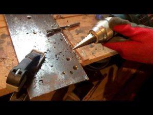 Как расширить отверстие в металле