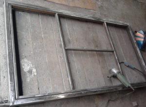 Самодельные двери из металла своими руками