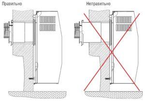 Как установить газовый конвектор своими руками