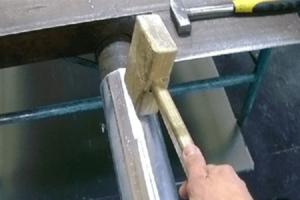 Как сделать трубу из жести своими руками