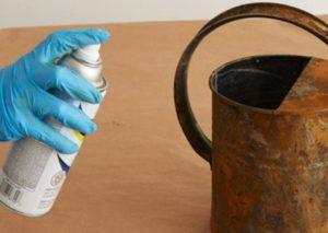 Чем можно отмыть ржавчину с металла
