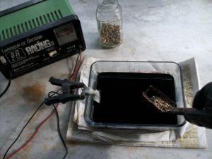 Гальванизация металла в домашних условиях