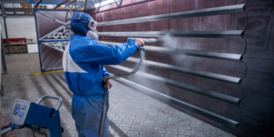 Технология окраски порошковыми красками металла