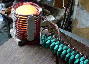 Индукционная печь из сварочного инвертора своими руками