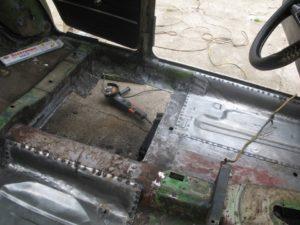 Ремонт днища автомобиля без сварки