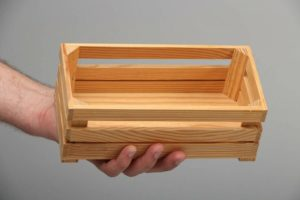 Как сделать деревянный ящик своими руками