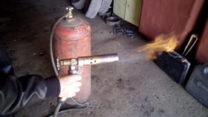 Как сделать пропановую горелку своими руками