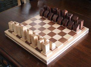 Как сделать шахматы своими руками из дерева