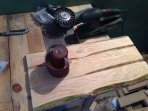 Как делать браширование дерева