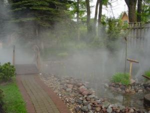 Водяной туман своими руками