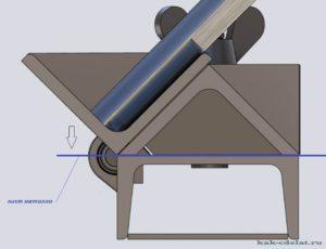 Станок для изготовления отливов своими руками