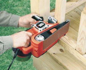 Ручной шлифовальный инструмент по дереву