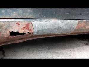 Ремонт порогов автомобиля без сварки