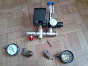 Реле давления воздуха для компрессора своими руками