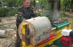 Гидро колун для дров своими руками
