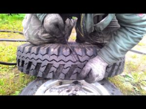 Как нарезать протектор на покрышке своими руками