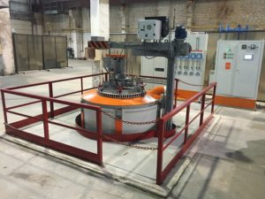 Оборудование для цементации стали
