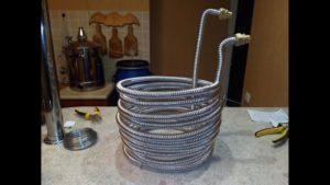 Чиллер для охлаждения воды своими руками