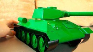 Как сделать модель танка своими руками