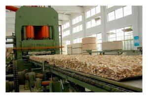 Оборудование для производства ОСБ плит