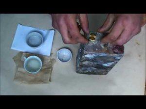 Тигель для плавки серебра своими руками