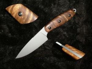 Накладная рукоять для ножа своими руками