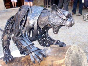 Кованые фигуры из металла