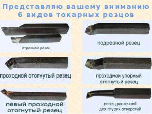 Резцы токарные по металлу классификация ГОСТ