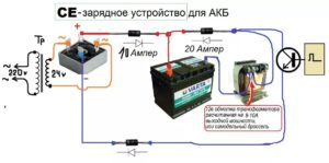 Простой выпрямитель для зарядки аккумулятора своими руками