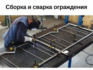 Кондуктор для сварки металлоконструкций