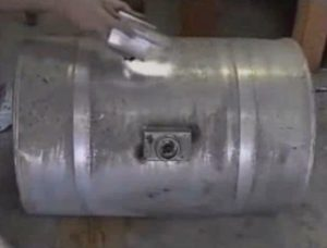 Как запаять алюминиевый бак