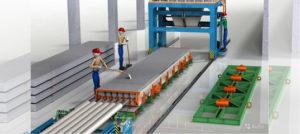 Оборудование для производства плит перекрытия